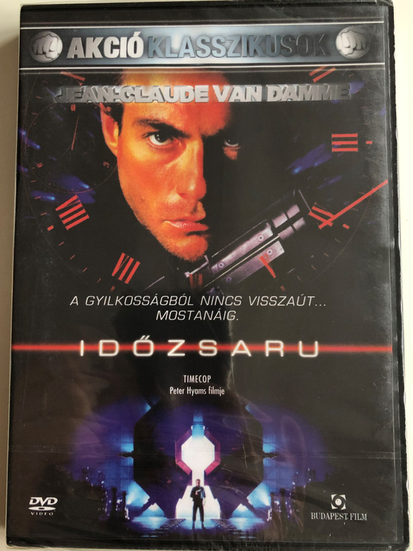 Timecop DVD 1994 Időzsaru / Directed by Peter Hyams / Starring: Jean-Claude Van Damme, Mia Sara, Ron Silver, Gloria Reuben (5999544244306)