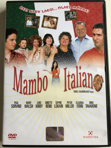 Mambo Italiano DVD 2003 / Directed by Émile Gaudreault / Starring: Luke Kirby, Claudia Ferri, Peter Miller, Paul Sorvino (5999544250086)