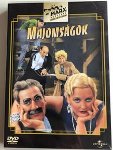 Monkey Business DVD 1931 Majomságok / Directed by Norman Z. McLeod / Starring: Groucho Marx, Harpo Marx, Chico Marx, Zeppo Marx (5050582318111)