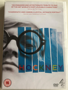 Hockney DVD 2014 / Directed by Randall Wright / Featuring: David Hockney, Kate Ogborn, Randall Wright / Documentary about the unconventional artist David Hockney (6867441057499)