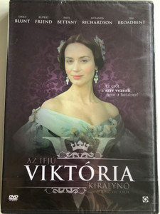 The Young Victoria DVD 2009 Az ifjú Viktória királynő / Directed by Jean-Marc Vallée / Starring: Emily Blunt, Rupert Friend, Paul Bettany, Miranda Richardson (5999544258051)