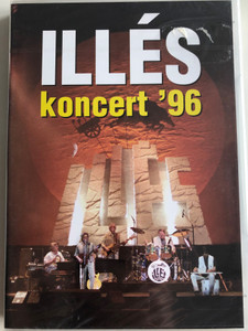 Illés koncert '96 DVD 1996 Hungarian rock band concert recording / Illés Lajos, Bródy János, Szörényi Levente, Pásztory Zoltán (5990501940026)