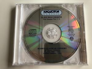Luigi Boccherini - Trio Sonatas Nos 1 - 6 / Hungaroton Classic Audio CD 1995 Stereo / HCD 31613