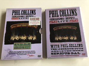 Phil Collins Serious Hits Live DVD 2003 / The 10 Serious Guys and 1 even more serious Gal / 2 DVD SET (825646048724)