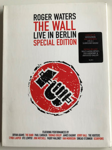 Roger Waters - The Wall DVD Live in Berlin Special Edition / Featuring Bryan Adams, The Hooters, Cyndi Lauper, Van Morrison, Scorpions / Universal Music (602498240021)