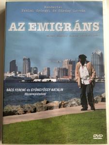 Az Emigráns DVD 2007 The Immigrant / Directed by Szalai Györgyi, Dárday István / Starring: Bács Ferenc, Gyöngyössy Katalin / The Life of Sándor Márai - Hungarian feature film (5996357343479)