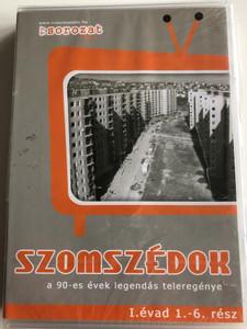 Szomszédok teljes 1. évad 1-18 rész 3x DVD Neighbours / Directed by Bujtás János, Horváth Ádám / A 90-es évek legendás teleregénye / Hungarian TV series / (5999554651873)