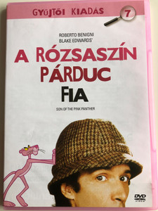 Son of the Pink Panther DVD 1993 A rózsaszín párduc fia / Directed by Blake Edwards / Starring: Roberto Benigni, Herbert Lom, Debrah Farentino, Robert Davi (8594163150075)