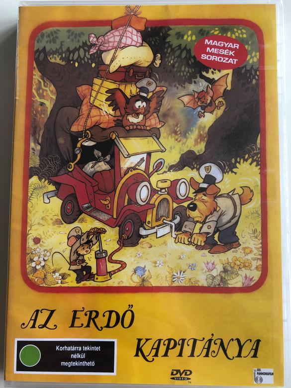 Az Erdő kapitánya DVD 1988 / Directed by Dargay Attila / Hungarian Voices: Csákányi László, Gálvölgyi János, Miklóssy György, Mikó István / Animated cartoon for children (5999881068771)