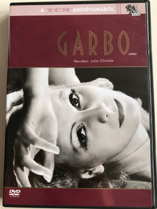 Garbo DVD 2005 / Narrated by Juli Christie / Directed by Kevin Brownlow, Christopher Bird / Documentary film about famous actress Greta Garbo (5999048908117)
