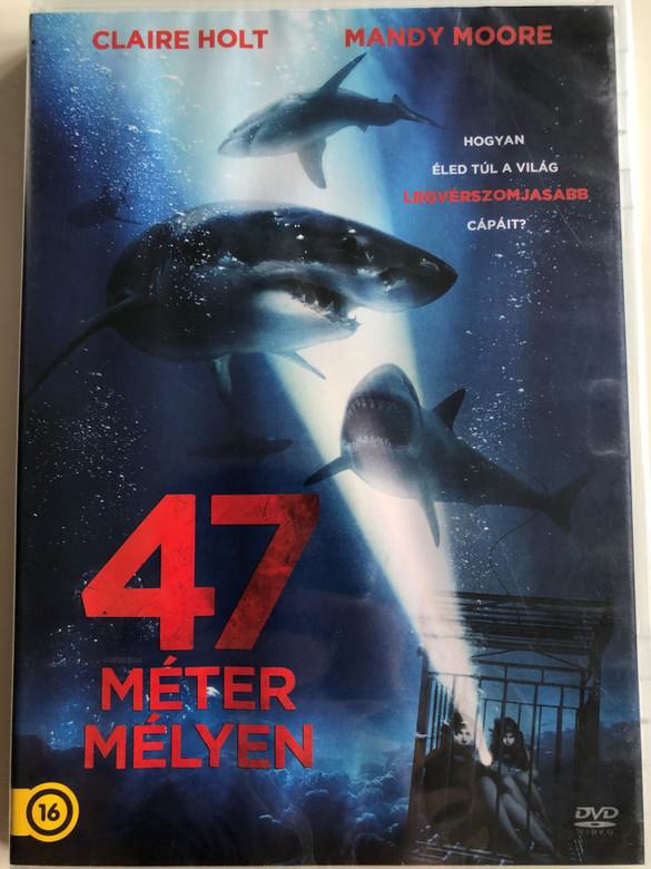 47 Meters Down DVD 2017 47 méter mélyen / Directed by Johannes Roberts / Starring: (8590548615504)