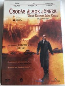 What Dreams May Come DVD 1998 Csodás álmok Jönnek / Directed by Vincent Ward / Starring: Robin Williams, Cuba Gooding, Jr., Annabella Sciorra (5999542180187)