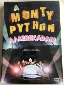 Monty Python Live at the Hollywood Bowl DVD 1982 A Monty Python Amerikában / Directed by Terry Hughes, Ian MacNaughton / Starring: Graham Chapman, John Cleese, Terry Gilliam, Eric Idle, Terry Jones, Michael Palin (5999048915689)