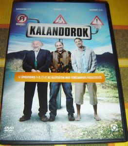 Kalandorok DVD 2007 Adventurers / Directed by Paczolay Béla / Starring: Haumann Péter, Rudolf Péter, Schruff Milán (5999544253940)