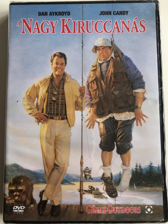 The Great Outdoors DVD 1988 A Nagy kiruccanás / Directed by Howard Deutch / Starring: Dan Aykroyd, John Candy (5999544254190)