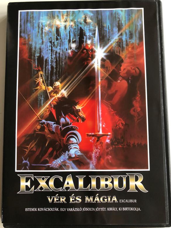 Excalibur DVD 1981 Excalibur Vér és Mágia / Directed by John Boorman / Starring: Nigel Terry, Helen Mirren, Nicholas Clay, Cherie Lunghi (5999048912244)