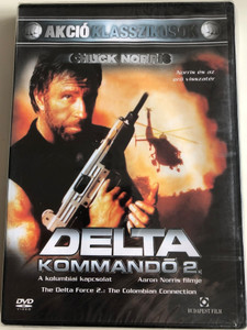 The Delta Force 2: The Colombian Connection DVD 1990 Delta Kommandó 2 - a kolumbiai kapcsolat / Directed by Aaron Norris / Starring: Chuck Norris, John P. Ryan, Paul Perri, Billy Drago (5999544244375)