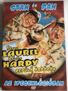 The Flying deuces DVD 1939 Stan és Pan az idegenlégióban / Directed by A. Edward Sutherland / Starring: Stan Laurel, Oliver Hardy, Jean Parker / Black & White American classic (5999883850381)