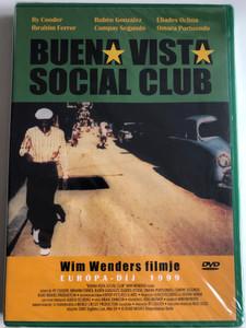 Buena Vista Social Club DVD 1998 / Directed by Wim Wenders / Featuring: Ibrahim Ferrer, Rubén González, Compay Segundo, Eliades Ochoa, Ry Cooder, Omara Portuondo (5998285750008)