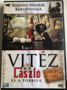 Vitéz László és a többiek 1. DVD / Epizód 1-2. / Kemény henrik Bábszínháza / Hungarian Puppet play / Episodes 1-2 / Directed by Szabó Attila (5999884941033)