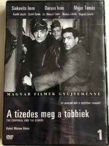 A tizedes meg a többiek DVD 1965 The Corporal and the others / Directed by Keleti Márton / Starring: Sinkovits Imre, Darvas Iván, Major Tamás / Magyar filmek gyűjteménye 1 (5999546331059)