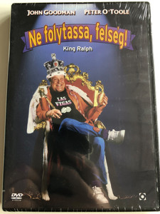 King Ralph DVD Ne folytassa, felség! / Directed by David S. Ward / Starring: John Goodman, Peter O'toole (5999544254336)