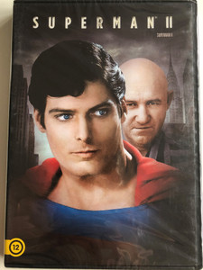 Superman II DVD 1980 / Directed by Richard Lester / Starring: Gene Hackman, Christopher Reeve, Ned Beatty, Jackie Cooper, Sarah Douglas (5996514023510)