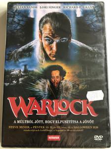 Warlock DVD 1989 A Múltból jött, hogy elpusztítsa a jövőt / Directed by Steve Miner / Starring: Julian Sands, Lori Singer, Richard E. Grant (5999882817620)