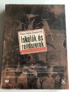 Iskolák és rendszerek DVD 1996 - 2003 / Directed by Papp Gábor Zsigmond / 3 lemezes limitált változat / Schools and Regimes in Hungary / Sihedernyi koromben, A birodalom iskolája, A kollégium végnapjai / 3 documentaries (5999544259478)
