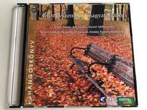 Gyöngyszemek a magyar lírából / Arany Janos, Ady Endre, Jozsef Attila versei, Balint Andras, Hegedus D. Geza es Jordan Tamas eloadasaban / Hangoskonyv Audio CD / 9789630957076