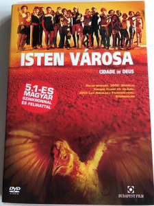 Cidade de Deus DVD 2002 Isten Városa (City of God) / Directed by Katia Lund / Starring: Seu Jorge, Alexandre Rodrigues, Douglas Silva (5999551920484)