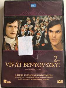 Vivát Benyovszky! 2 DVD 1975 / A Teljes TV-Sorozat 4 DVD Lemezen / Directed by Igor Ciel / Starring: Jozef Adamovic, Juhász Jácint (5999552560535)