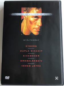 Jean-Claude van Damme Collection 5 DVD SET 2009 / Cyborg, Double Impact, Kickboxer, Lionheart, Bloodsport / van Damme - gyűjtemény (5999544258419)
