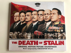 The Death Of Stalin - Original Motion Picture Soundtrack / Music Composed by Christopher Willis / Mvka Audio CD 2018 / MVLP1016