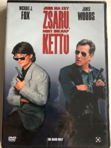 The Hard Way DVD 1991 Jobb ma egy zsaru mint holnap kettő / Directed by John Badham / Starring: Michael J. Fox, James Woods (5999544255524)