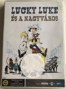 Lucky Luke - Daisy Town DVD 1971 Lucky Luke és a nagyváros / Directed by René Goscinny / (Hungarian only) / Classic cartoon (5998133180131)