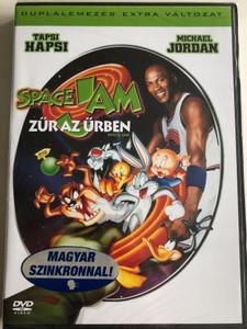 Space Jam 2DVD 1996 Zűr az Űrben / Directed by Joe Pytka / Starring: Michael Jordan, Billy West, Wayne Knight, Theresa Randle, Danny DeVito (5999048903891)