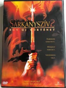 Dragonheart 2 - A new beginning DVD 2000 Sárkányszív 2 - Egy új történet / Directed by Doug Lefler / Starring: Robby Benson, Christopher Masterson, Harry Van Gorkum (5999544253544)