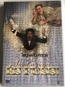 Brewster's Millions DVD 1985 Szórd a pénzt és fuss! / Directed by Walter Hill / Starring: Richard Pryor, John Candy, Lonette McKee, Stephen Collins (5999544254442)