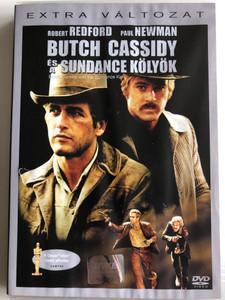 Butch Cassidy and the Sundance Kid DVD 1969 Butch Cassidy és a Sundance kölyök / Directed by George Roy, Hill Newman (5996255707649)