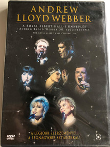 Andrew Lloyd Webber - The Royal Albert Hall Celebration DVD 1998 Royal Albert Hall-i Ünneplés / A legjobb szerzeményei a legnagyobb sztárokkal (5999544254602)