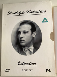Rudolph Valentino Collection DVD 3 Disc Set 2008 / The Sheik, The Eagle, Blood & Sand / Black & White Silent Classics (5060005702458)