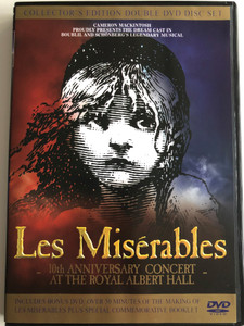 Les Misérables DVD 2004 The Miserables / Collectors's Edition Double DVD Disc Set / 10th Anniversary Concert at the Royal Albert Hall / Colm Wilkinson, Ruthie Henshall, Lea Salonga, Hannah Chick (5014138071530)