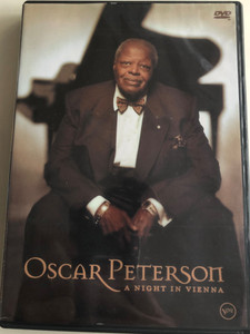Oscar Peterson DVD 2004 A night in Vienna / Oscar Peterson quartet: Niels-Henning Orsted Pedersen, Ulf Wakenius, Martin Drew / Regal records (602498625347)