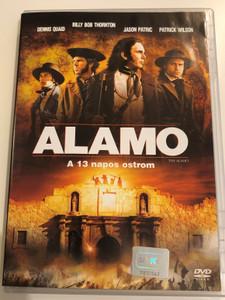 The Alamo DVD 2004 Alamo a 13 napos ostrom / Directed by John Lee Hancock / Starring: Dennis Quaid, Billy Bob Thornton, Jason Patric, Patrick Wilson (5996255714388)