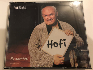 Hofi - Pusszantás! / 5x Audio CD Set 2005 / Hungarian legendary comedian Géza Hofi / Első menet, Hofisszeusz, Szabhatjuk, Hús-mentes Áru, Pusszantás mindenkinek / Reader's Digest RM-CD 05112-F (RM-CD 05112-F)