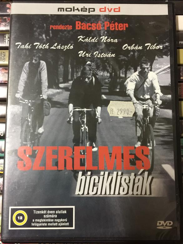 Szerelmes biciklisták DVD 1965 Cyclists in Love / Directed by Bacsó Péter / Starring: Orbán Tibor, Tahi Tóth László, Uri István, Káldi Nóra, Szilágyi Tibor (5996357312642)