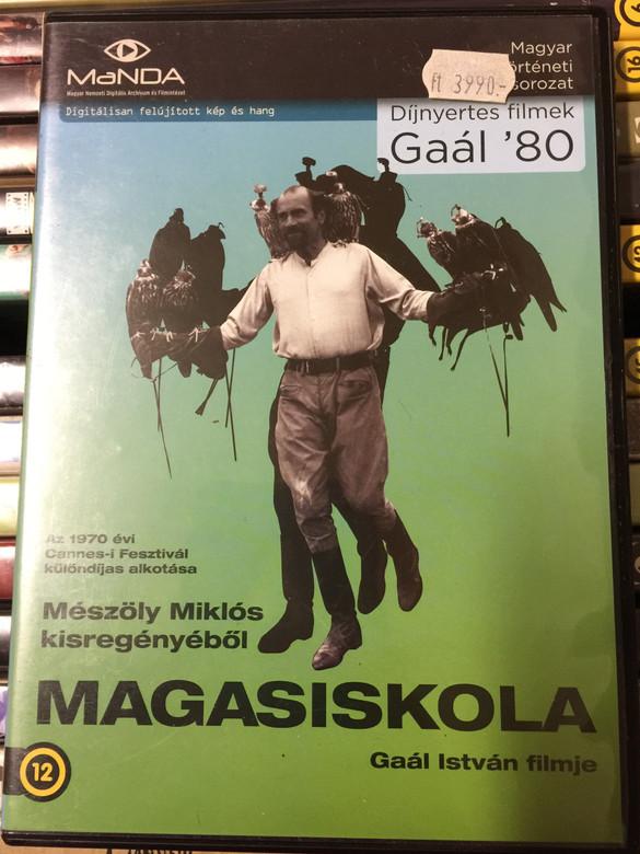 Magasiskola DVD 1970 The Falcons / Directed by Gaál István / Starring: Iván Andonov, Bánffy György, Meszléry Judit (5999884681434)