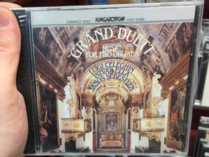 """Grand Duett"" - Music For Two Organs / Luigi Celeghin, István Ella, János Sebestyén ‎/ Hungaroton Audio CD 1992 Stereo / HCD 31464"