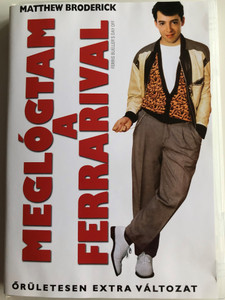 Ferris Bueller's Day Off DVD 1986 Meglógtam a Ferrarival / Directed by John Hughes / Starring: Matthew Broderick, Mia Sara, Alan Ruck (5996051310289)